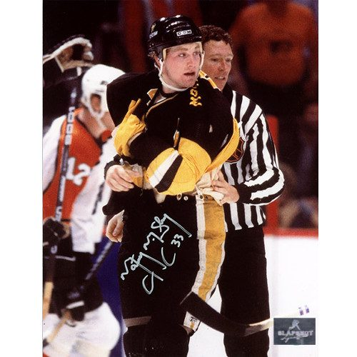 Marty McSorley Pittsburgh Penguins Signed 8x10 Photo