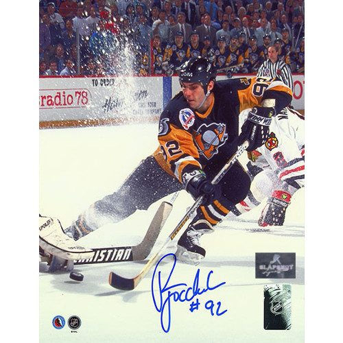 Rick Tocchet Pittsburgh Penguins Finals Signed 8x10 Photo