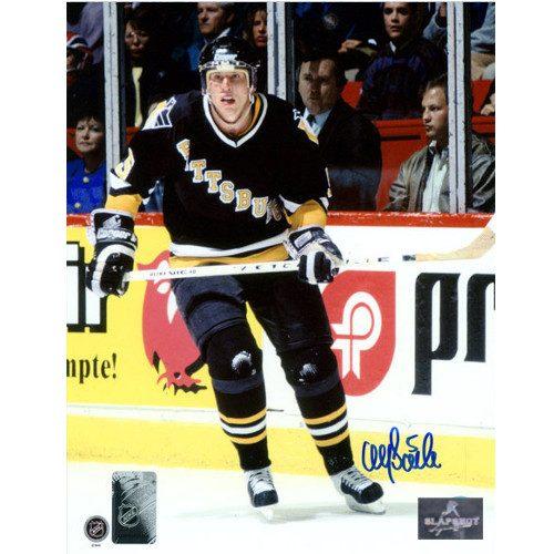 Ulf Samuelsson Pittsburgh Penguins 8x10 Signed Photo