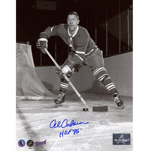 Al Arbour Toronto Maple Leafs Signed 8x10 Photo