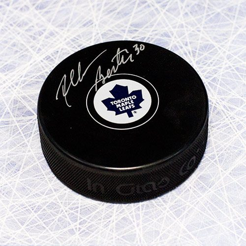 Allan Bester Toronto Maple Leafs Signed Hockey Puck