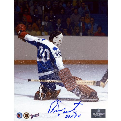 Bernie Parent Toronto Maple Leafs Signed 8x10 Photo