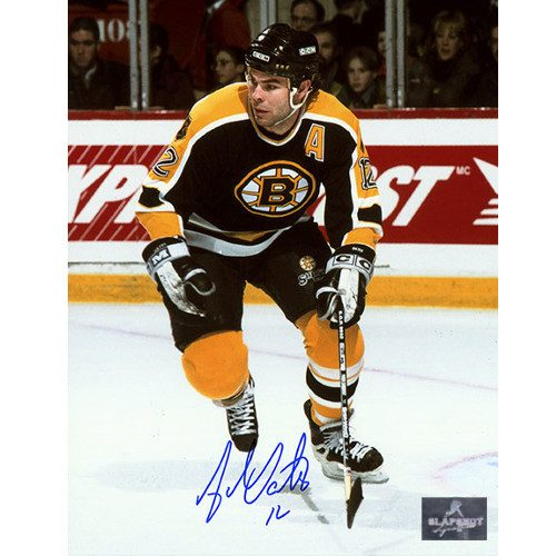 Adam Oates Boston Bruins Signed Photo-Skating Action 8x10