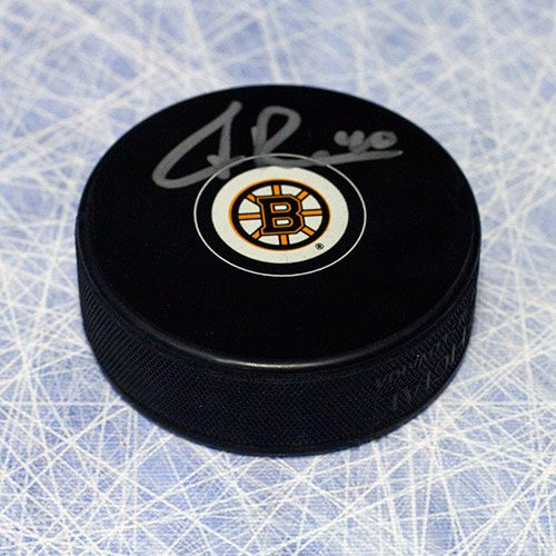 Tuukka Rask Autographed Puck-Boston Bruins Hockey Puck