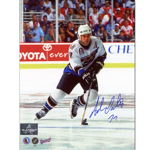Adam Oates Washington Capitals Autographed 8x10 Action Photo