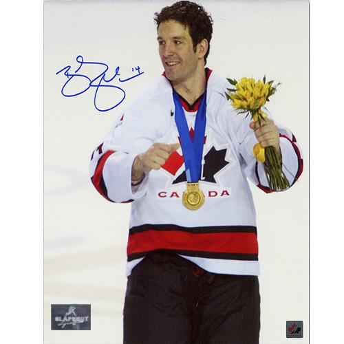 Brendan Shanahan 2002 Olympics Gold Team Canada Signed