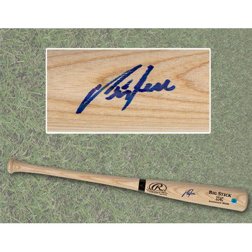 George Bell Blue Jays Autographed Bat Rawlings MLB Baseball Bat