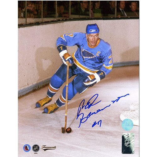 Red Berenson St. Louis Blues Autographed Action 8x10 Photo
