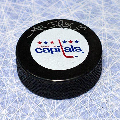 Al Iafrate Washington Capitals Autographed Hockey Puck