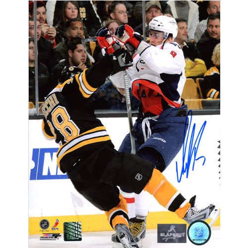 Alexander Ovechkin Washington Capitals Autographed Bodycheck 8x10 Photo