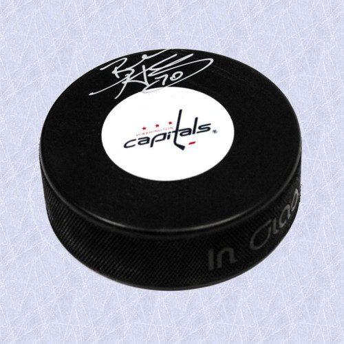 Braden Holtby Washington Capitals Autographed Hockey Puck