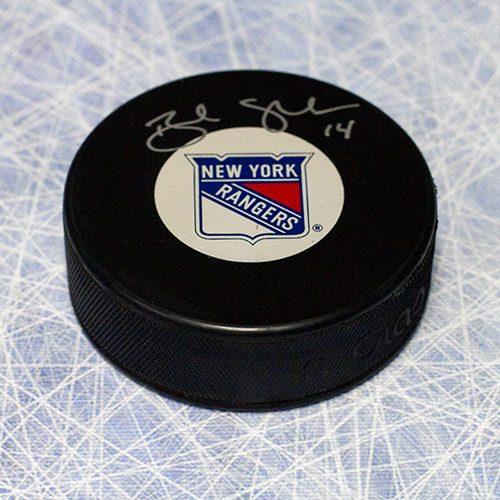 Brendan Shanahan Rangers Autographed Hockey Puck