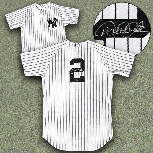 Derek Jeter Signed Baseball Jersey-New York Yankees Authentic Jersey