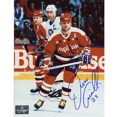 Dino Ciccarelli Washington Capitals Signed Hockey 8x10 Photo