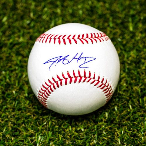 JA Happ Signed Baseball Toronto Blue Jays Official MLB Baseball