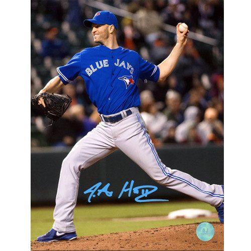 JA Happ Toronto Blue Jays Signed Baseball Pitcher 8x10 Photo