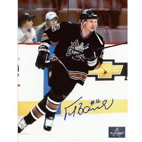 Peter Bondra Washington Capitals Autographed Skating 8x10 Photo