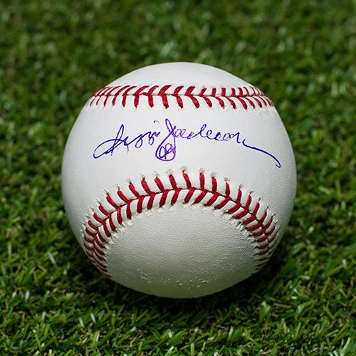 Reggie Jackson Signed Baseball New York Yankees Official MLB Baseball