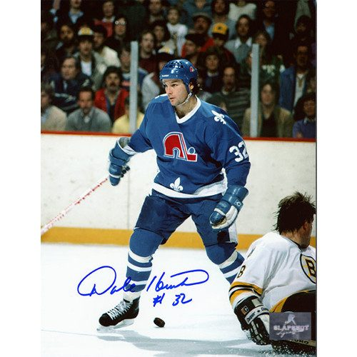 Dale Hunter Quebec Nordiques Autographed Game 8x10 Photo