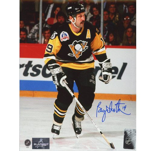 Bryan Trottier Pittsburgh Penguins Autographed Stanley Cup Finals 8x10 Photo