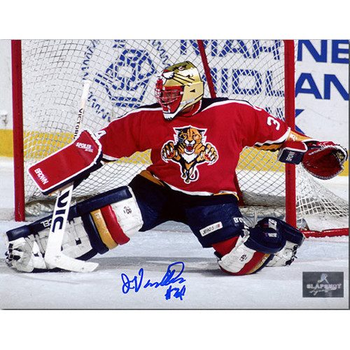 John Vanbiesbrouck Florida Panthers Autographed Goalie 8x10 Photo