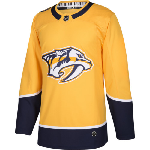 Nashville predators adidas jersey authentic home nhl for Nashville predators jersey