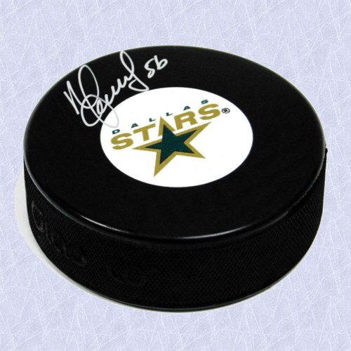 Sergei Zubov Dallas Stars Autographed Stars Hockey Puck