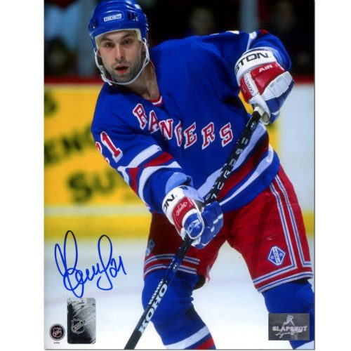 Sergei Zubov New York Rangers Autographed Hockey 8x10 Photo