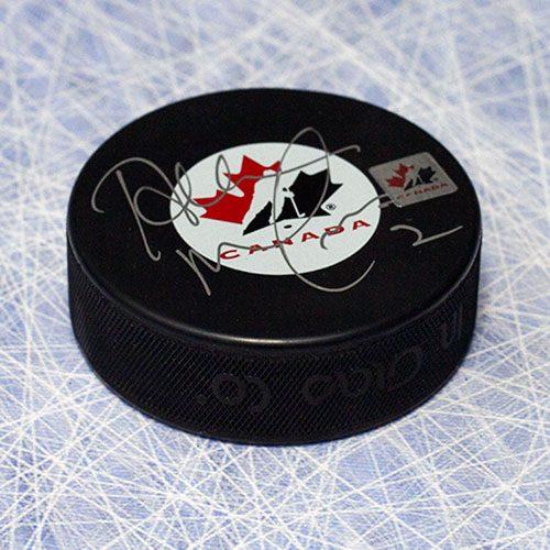 Al MacInnis Team Canada Autographed Olympic Hockey Puck