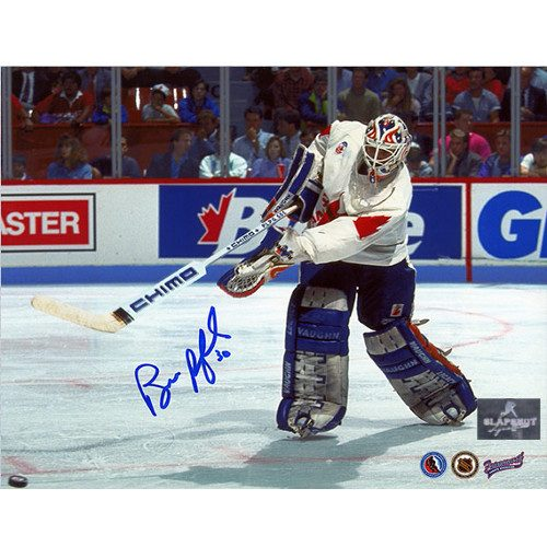 Bill Ranford Team Canada Autographed 1991 Canada Cup 8x10 Photo