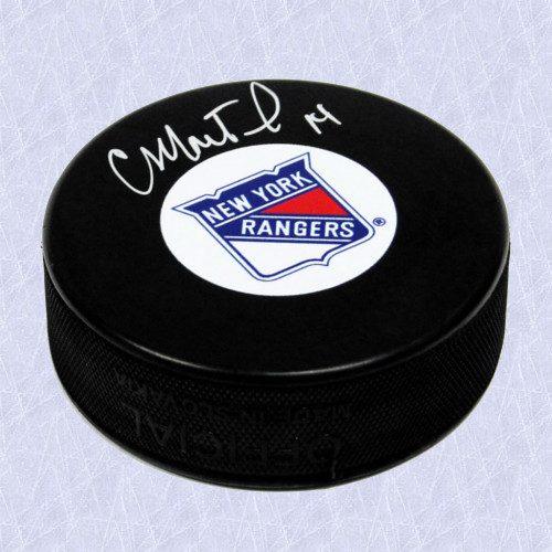 Craig MacTavish New York Rangers Autographed Hockey Puck