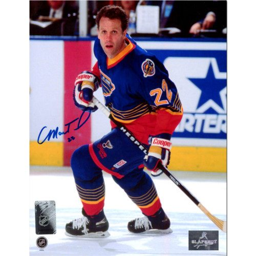 Craig MacTavish No Helmet St Louis Blues Autographed 8x10 Photo