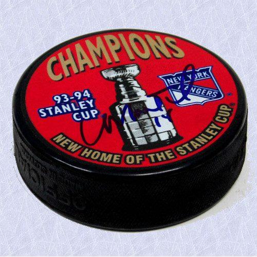 Craig MacTavish Stanley Cup New York Rangers Signed Hockey Puck