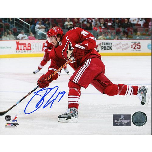 Shane Doan Phoenix Coyotes Autographed Shooting 8x10 Photo