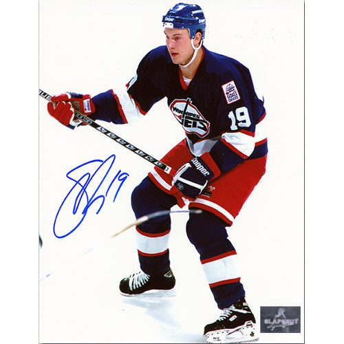 Shane Doan Rookie Autographed 8x10 Photo-Winnipeg Jets