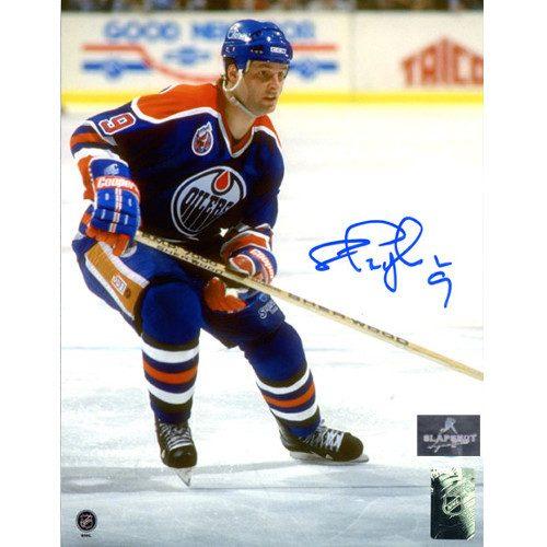 Shayne Corson Edmonton Oilers Autographed 8x10 Photo