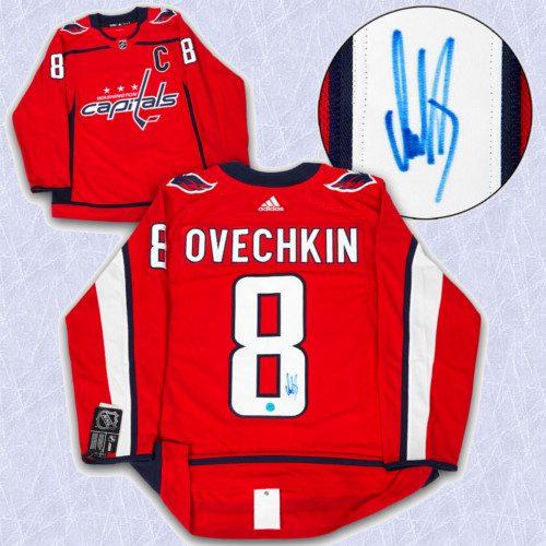 Alex Ovechkin Adidas Jersey Autographed Authentic-Washington Capitals