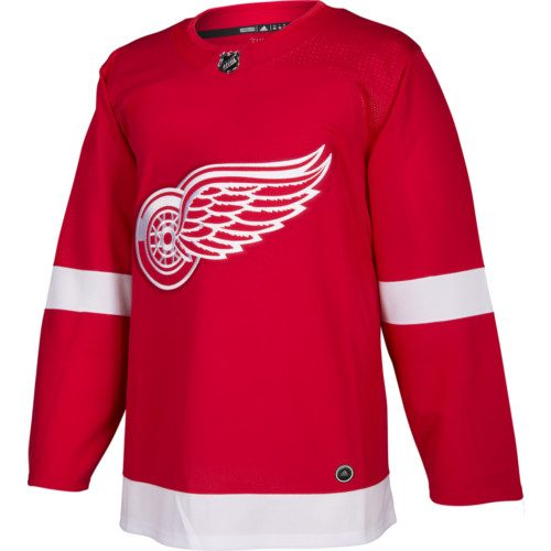Detroit Red Wings Adidas Jersey Authentic Home NHL Hockey Jersey