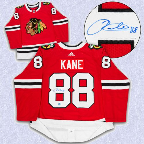 Patrick Kane Adidas Jersey Autographed Authentic-Chicago Blackhawks
