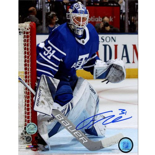 Frederik Andersen Toronto Arenas Signed Toronto Maple Leafs Next Century Game 8x10 Photo