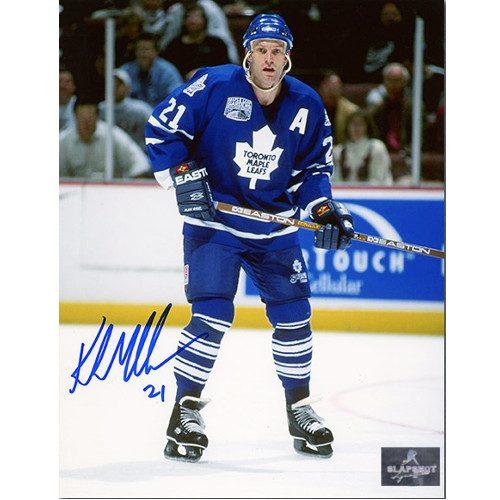 Kirk Muller Toronto Maple Leafs Autographed Hockey 8x10 Photo