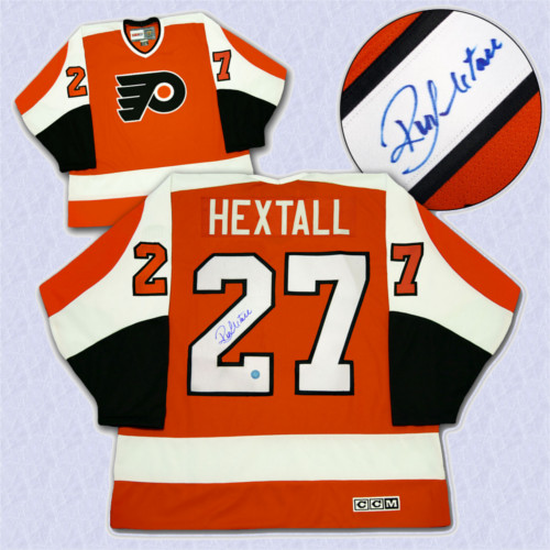 Ron Hextall Philadelphia Flyers Autographed Retro CCM Hockey Jersey 14995b12b69