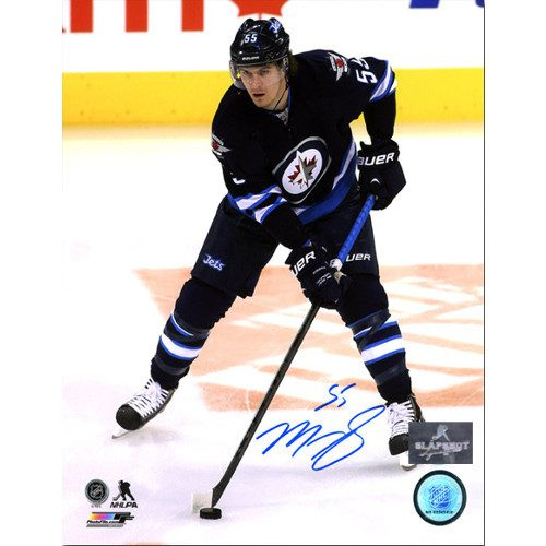 Mark Scheifele Winnipeg Jets Autographed Playmaker 8x10 Photo